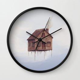 Lofty Skies Wall Clock