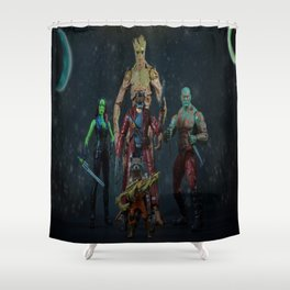 We Are GOTG Shower Curtain