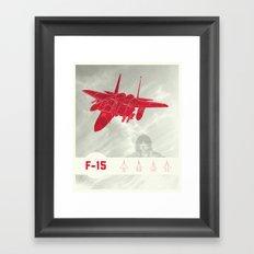 F-15 Framed Art Print