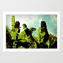 Banana Dreams Art Print