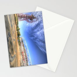 West Ham Olympic Stadium And The Arcelormittal Orbit  Stationery Cards
