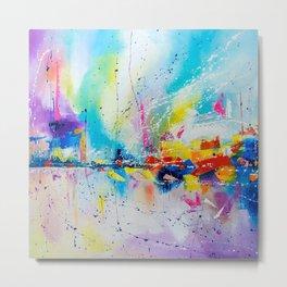 Travel of color Metal Print