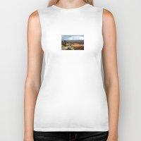 utah Biker Tanks featuring Somewhere in Utah by Lon Casler Bixby - Neoichi
