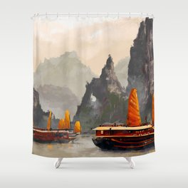 Ha Long Bay Shower Curtain