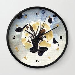 In Limbo - Sepia II Wall Clock
