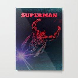 Superhero Takes Flight Metal Print
