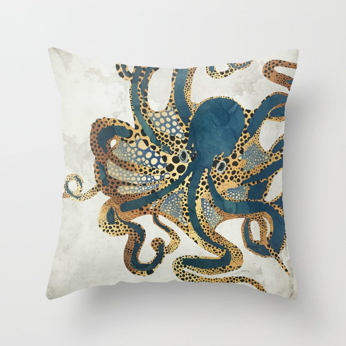 Underwater Dream VI Throw Pillow