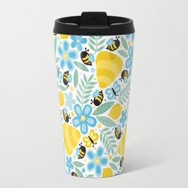 Busy Little Honeybees Travel Mug