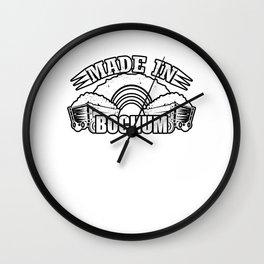 Made in Bochum Wall Clock
