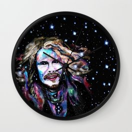 Steven Tyler Psychedelic - Rockstar Collection Wall Clock