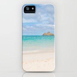 Lanikai Beach iPhone Case