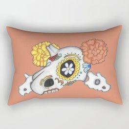 Dia de los Muertos (Cubone) Rectangular Pillow