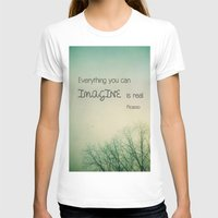 imagine T-shirts featuring Imagine by Olivia Joy St.Claire - Modern Nature / T