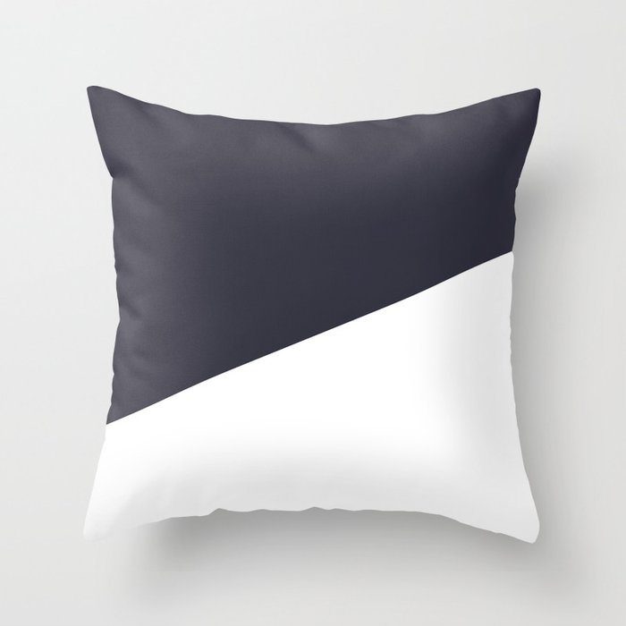 Urban Geometry Navy Blue White Throw Pillow By Naturemagick Society6