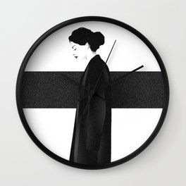 walking Wall Clock