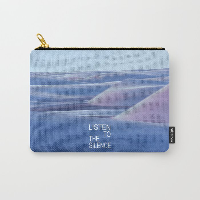 Listen to the Silent #3 Carry-All Pouch