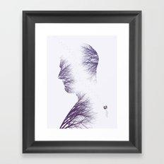 The Walk (Winter) Framed Art Print