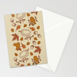 Fly Away Fall Stationery Cards