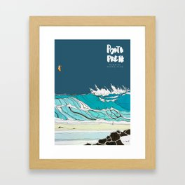 Pumping perfection Framed Art Print