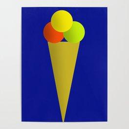 Ice Cream Cool Poster