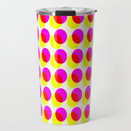 dots pop pattern 2 Travel Mug