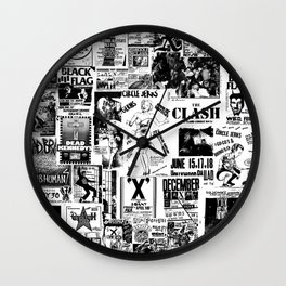 PUNK Therese Wall Clock