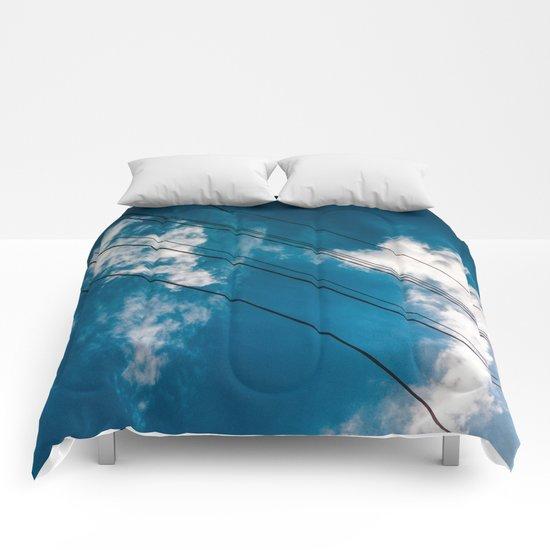 Lines in the sky Comforters