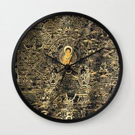 Mandala Buddhist 13 Wall Clock