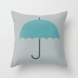British Summer Time (clock#25) Throw Pillow