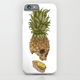 Pineapple Skull iPhone Case