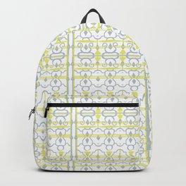 Yellow Batik Backpack