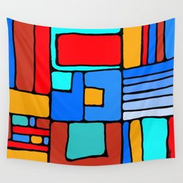 Cargo Ship Containers 10 Wall Tapestry