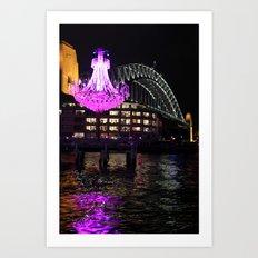 Sydney Harbour Art Print