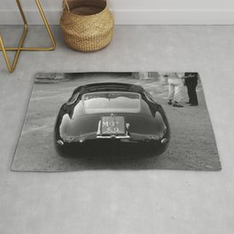 1957 4.5 Coupe, Modena, Italy Italian Sport Car Factory Photograph Rug