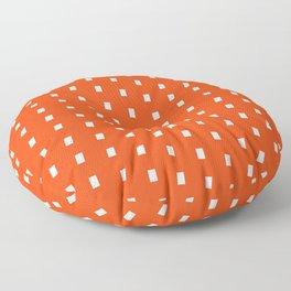 Orage White Pattern Floor Pillow