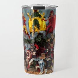 Sculptures Assemble! Travel Mug