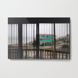 View from the Window in Navarre Beach, Florida Metal Print