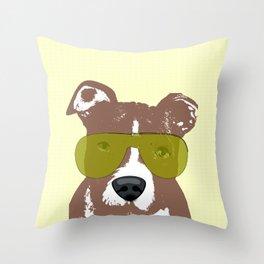 American Pit Bull Terrier Throw Pillow