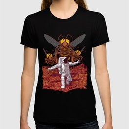 Killer bees on Mars. T-shirt