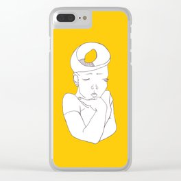 thinking Clear iPhone Case