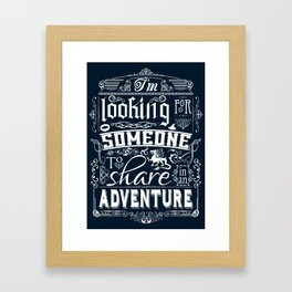 Help wanted Framed Art Print