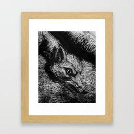 ROA. Framed Art Print