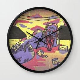 Season Finale Wall Clock