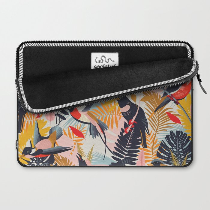 Paradise Birds II. Laptop Sleeve