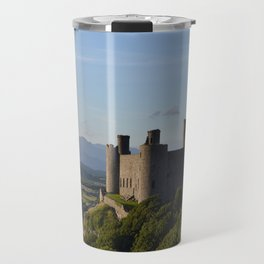 Harlech Castle and Snowdon Travel Mug