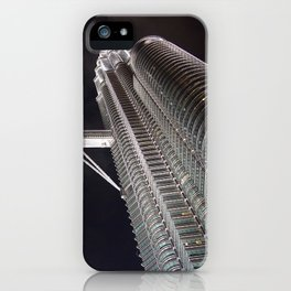 Petronas Twin Tower, Malaysia iPhone Case