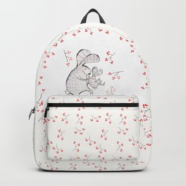 Daddy rabbit Backpack