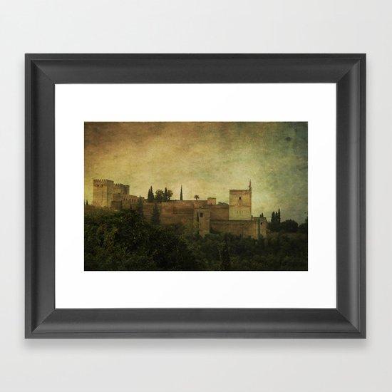 Alhambra 2 Framed Art Print