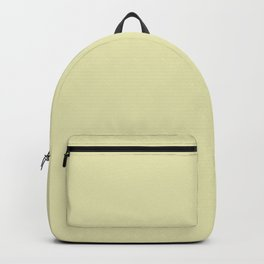 yellow soft Backpack