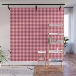 Red and pink Polka Dots Wall Mural